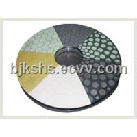 Vitrified Bond Double Disc CBN Grinding Wheel Diameter:400mm