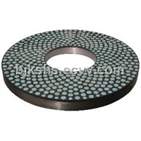 Vitrified Bond Double Disc CBN Grinding Wheel - Diameter 840mm
