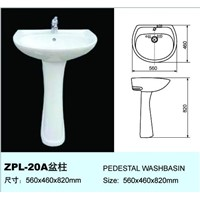 washbasin with pedestal(ZPL-20A)