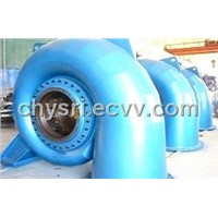 water turbine unit