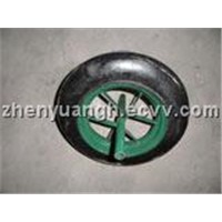 wheel solid tyre