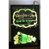 white light LED writing board with CE and RoHS