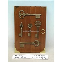 wooden key box  CF2687C