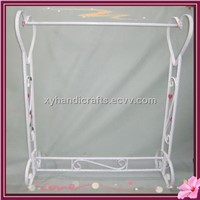 wrought iron cloth display racks