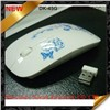 2.4g Wireless Flat PC Laptop Computer Mouse