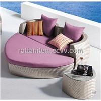 Resin wicker sofa set CT8166