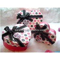 heart-shape gift box