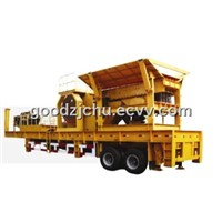 Most popular mobile Jaw crushing plant