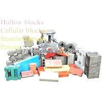 Block Making Machine / Brick Machine (QT10-15)