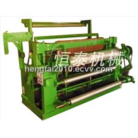 Light full automatic welded wire mesh machine