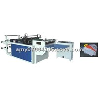 Plastic Arc Bottom Bag Making Machine