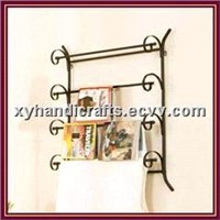 Wrought Iron  Towel Racks
