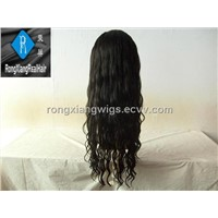 100% remy virgin human hair lace wigs