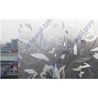 3D Laser and Embossing Static Window Film