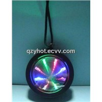 LED Flashing mini colorful Tunnel light,necklace