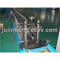 Octagonal tube forming machine