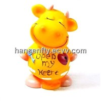Resin Cow Money Boxes Promotional Gifts