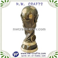 Resin Soccer World Cup Trophy