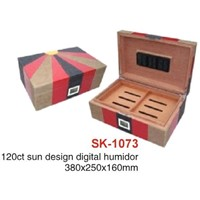 120CT Sun Design Digital Humidor (SK-1073)