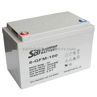 12V100AH/High Power lead acid battery for solar &wind systtem