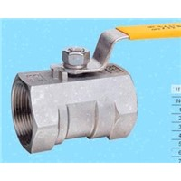 1pc Standard Bore 1000PSI Stainless steel Threaded End Ball Valve