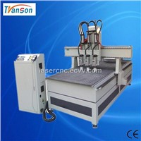3 Heads Wood CNC Router