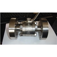 3pc High Pressure Forged Ball Valve (304)