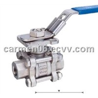 3pc Thread Ball Valve