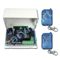 4 Channel DC RF Transmitter & Receiver With Memory Function