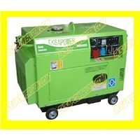 5KVA air cool diesel generator set