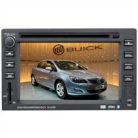 6.2 Inch Touch Screen GPS Car DVD Player Speacial For Old Buick Excelle