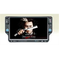 7.0-Inch Single DIN Car DVD/GPS Player with Bluetooth