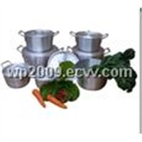 7pcs Set Aluminium Cooking Pot