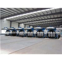 AAC (Autoclaved aerated concrete) brick production machine