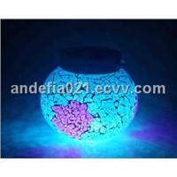 ALS-201 Multicolored Glass solar led light