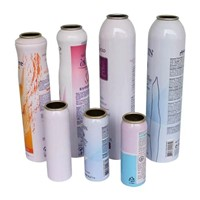 Aluminum Aerosol Can Use for Lotion Cosmetic