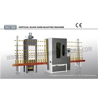 Automatic Vertical Glass Sandblasting Machine