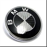 BMW Full Carbon Fiber Wheel Center Caps Emblem