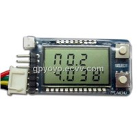 Battery LCD Voltage Meter Tester Alarm