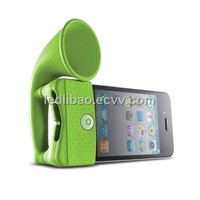 Bone Collection Horn Stand Portable Amplifier for iPhone 4