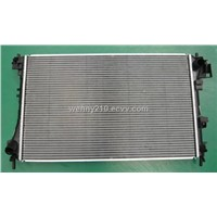 Brazed Aluminum Car Radiator for OPEL