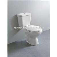 CE two piece toilet