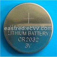 CR2032.CR2025 Lithium button cell batteries