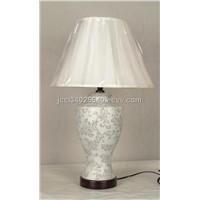 Lamp table lamp guangzhou jingchang ceramics lamps co ltd ceramic table lampwhite flower aloadofball Images