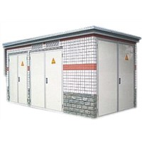 Continental box transformer substation