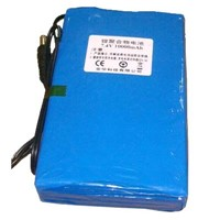 DC 7.4V 10000 Mah battery,lithium battery,CCTV power battery,wireless camera battery,7.4V battery