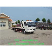 Dongfeng little overlord road trailer highway repair car