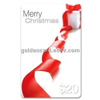 Eco-Friendly Christmas Gift Card