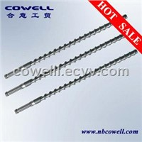 Extruder screw mixer element