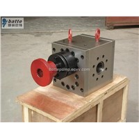Extrusion melt pumps for extruders
